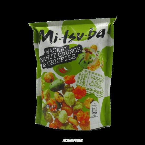 Snack Mitsuba Wasabi Crunchy e Crispies