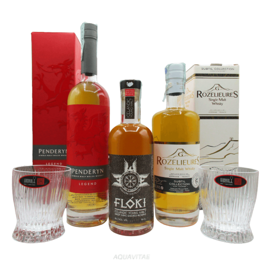 Due Passi in Europa - Set Degustazione Whisky Single Malt Whisky