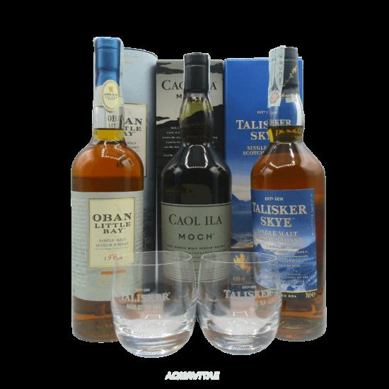 Un Giro In Scozia - Set Degustazione Whisky Single Malt Scotch Whisky