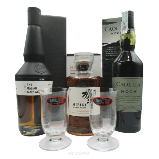 Whisky Viaggio Tra I Continenti - Set Degustazione Whisky Single Malt Whisky