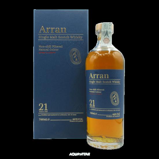 Whisky Arran 21 Year Old Single Malt Scotch Whisky