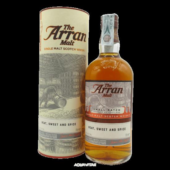 Whisky Arran Small Batch Peat, Sweet And Spice Single Malt Scotch Whisky