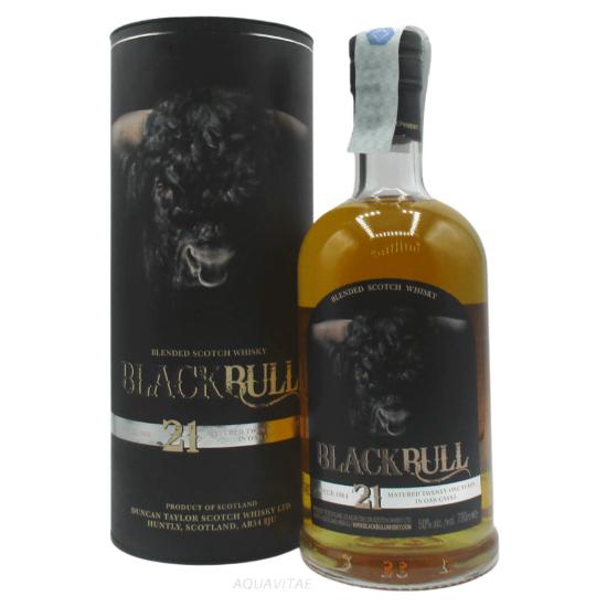 Whisky Black Bull 21 Year Old Whisky Scozzese Blended