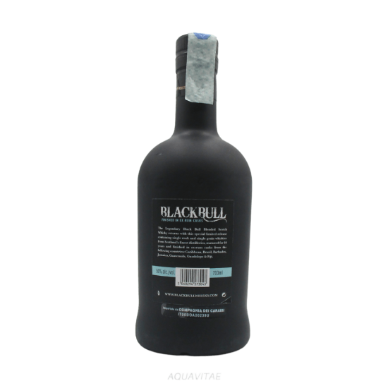 Whisky Black Bull 10 Year Old Rum Finish Whisky Scozzese Blended
