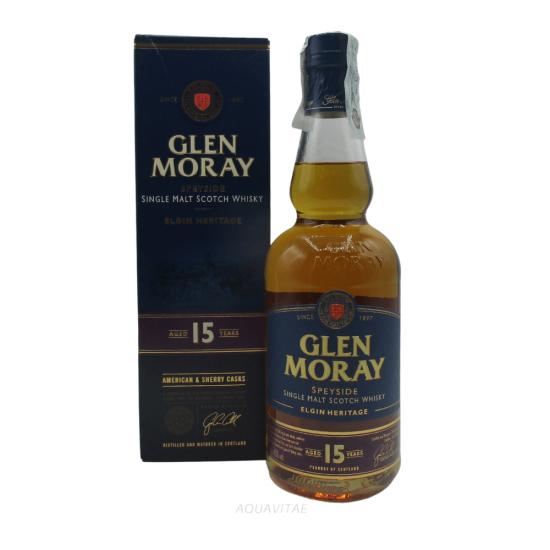 Whisky Glen Moray 15 Year Old Elgin Heritage Single Malt Scotch Whisky