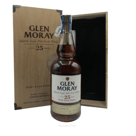 Whisky Glen Moray 25 Year Old Port Cask Finish Batch 2 Single Malt Scotch Whisky