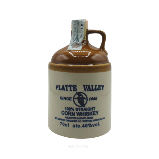 Whisky Platte Valley 100% Straight Corn Whiskey McCormick Distilling Co.