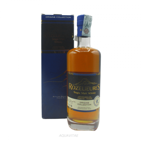 Whisky Rozelieures Blue Label Origine Collection Whisky Francese Single Malt
