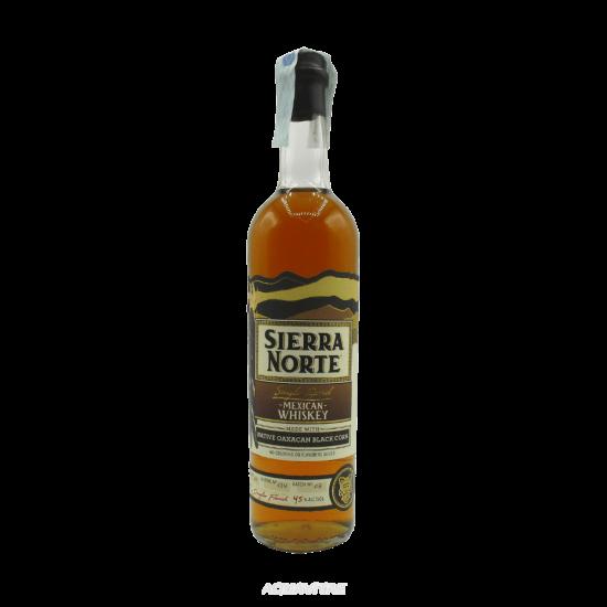 Whiskey Sierra Norte 85% Maiz Negro  Whiskey Messicano