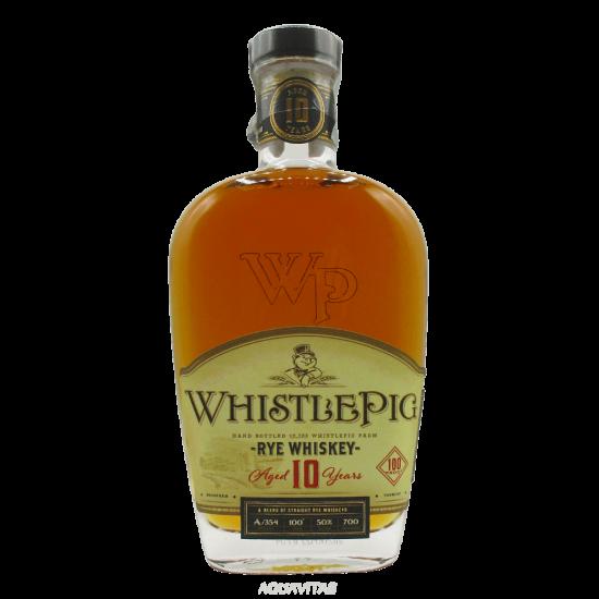 Whiskey WhistlePig Straight Rye Whiskey 10 Year Old America Whiskey Rye Whiskey