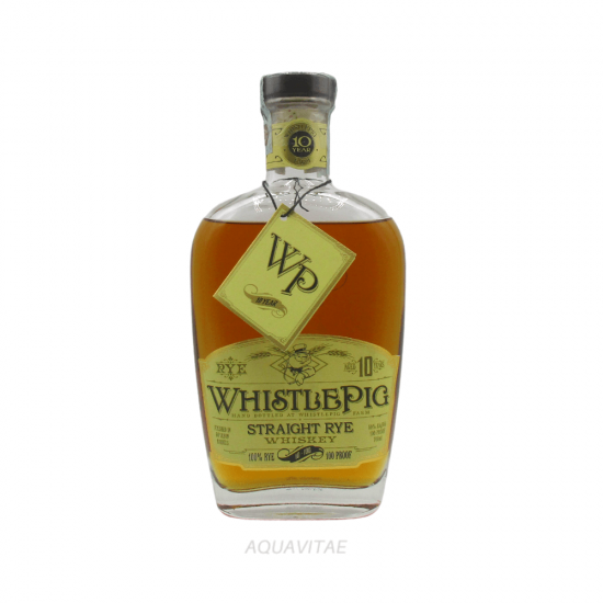Whiskey WhistlePig Straight Rye Whiskey 10 Year Old America Whiskey Rye Whiskey