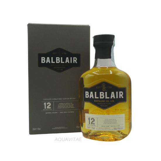 Whisky Balblair 12 Year Old  Single Malt Scotch Whisky