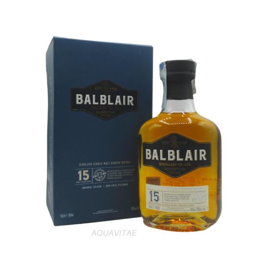 Whisky Balblair 15 Year Old  Single Malt Scotch Whisky