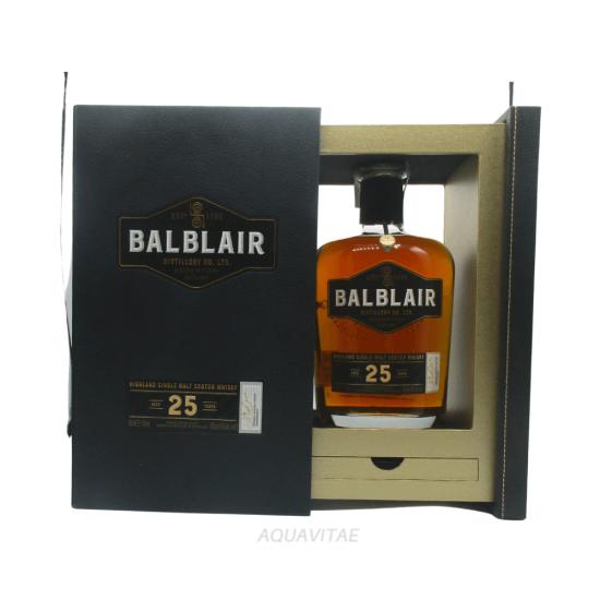 Whisky Balblair 25 Year Old Single Malt Scotch Whisky