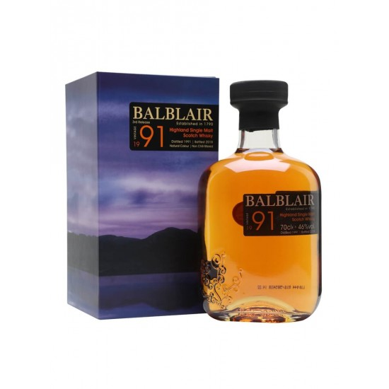 Whisky Balblair Vintage 1991 Single Malt Scotch Whisky