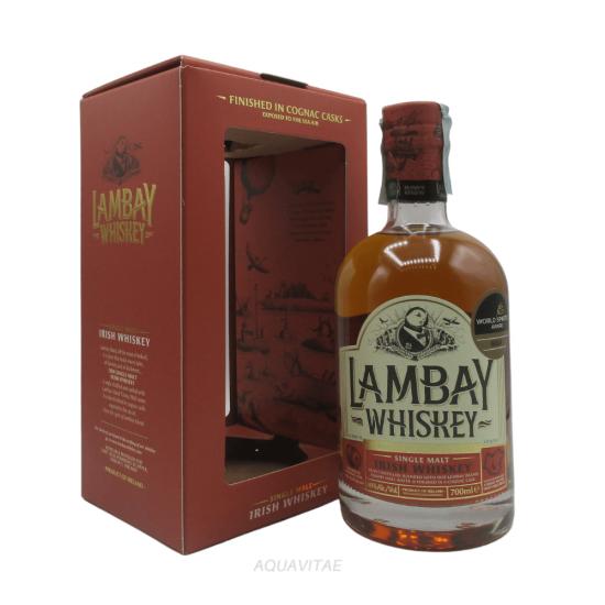 Whiskey Lambay Single Malt Cognac Cask Finish Whiskey Irlandese Single Malt