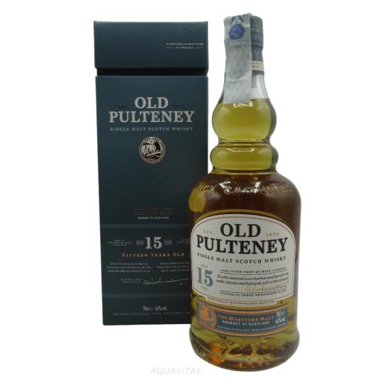 Whisky Old Pulteney 15 Year Old Single Malt Scotch Whisky