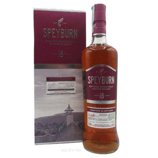 Whisky Speyburn 18 Year Old Single Malt Scotch Whisky