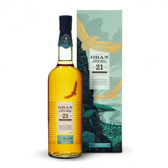 Whisky Oban 21 Year Old Special Release 2018 OBAN