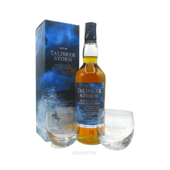 Whisky Talisker Storm + 2 Bicchieri Talisker Omaggio Single Malt Scotch Whisky