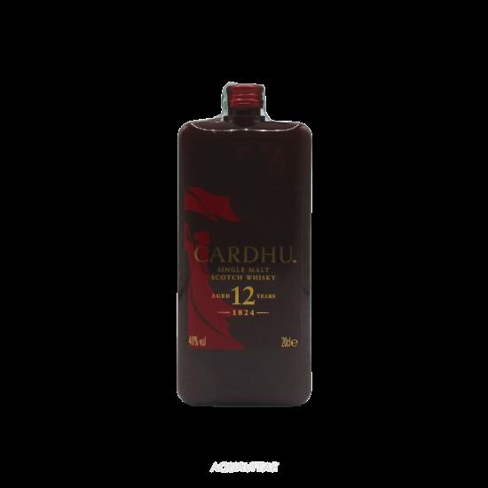 Whisky Cardhu 12 Year Old Pocket Single Malt Scotch Whisky