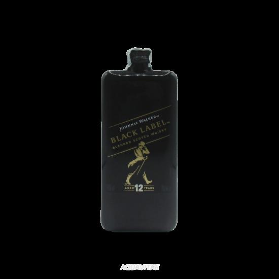 Whisky Johnnie Walker Black Label 12 Year Old Pocket  Whisky Scozzese Blended