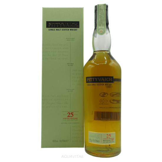 Whisky Pittyvaich 25 Year Old Special Release 2015 Single Malt Scotch Whisky