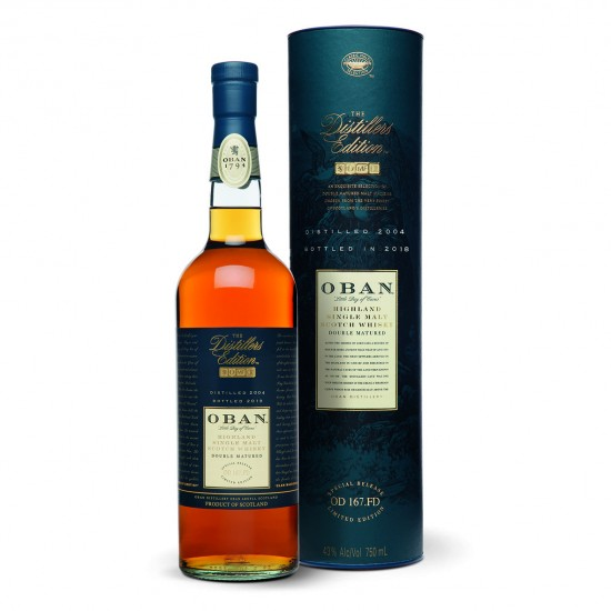 Whisky Oban Distillers Edition 2018 OBAN