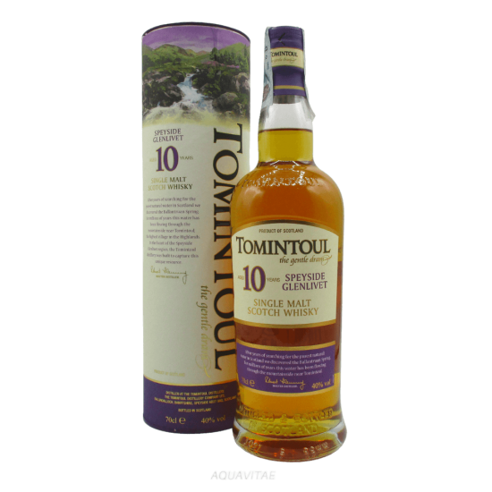 Whisky Tomintoul 10 Year Old  Tomintoul