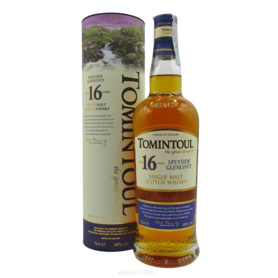 Whisky Tomintoul 16 Year Old  Tomintoul