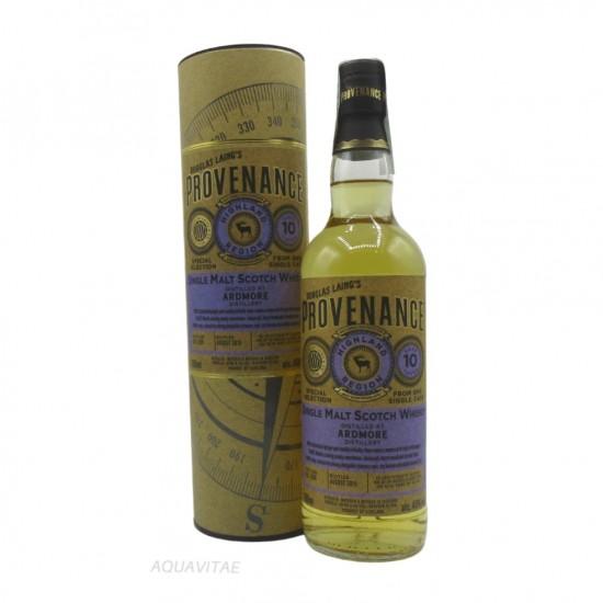 Whisky Provenance Ardmore 10 Year Old Single Malt Scotch Whisky