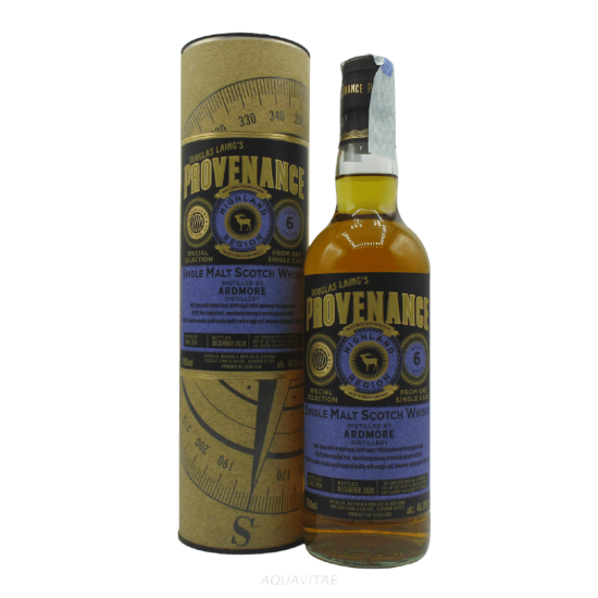 Whisky Provenance Ardmore 6 Year Old Single Malt Scotch Whisky