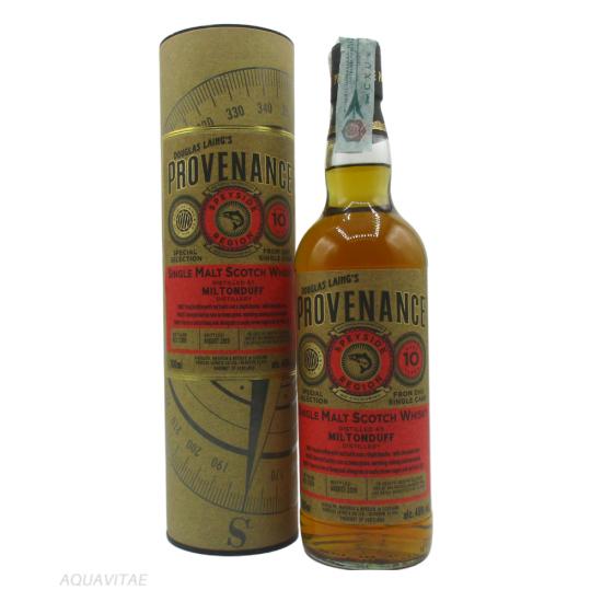 Whisky Provenance Miltonduff 10 Year Old Single Malt Scotch Whisky