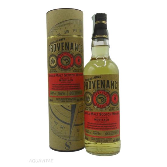 Whisky Provenance Mortlach 8 Year Old Single Malt Scotch Whisky