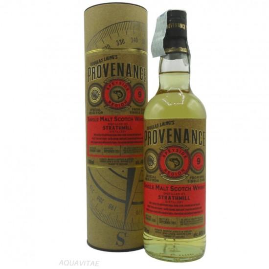 Whisky Provenance Strathmill 9 Year Old Single Malt Scotch Whisky
