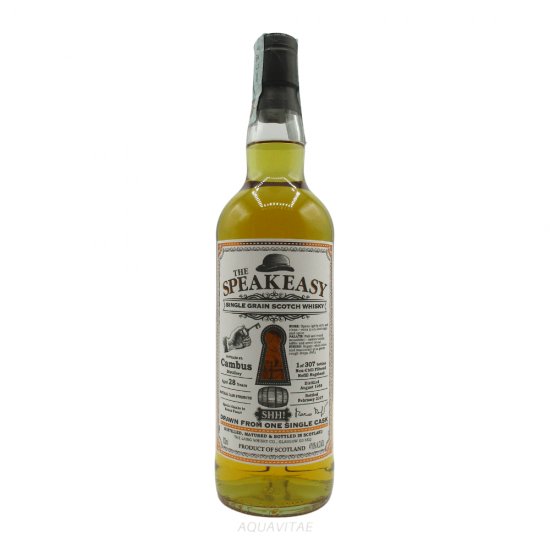 Whisky The Speakeasy Cambus 1988 28 Year Old - Grain Scotch Whisky