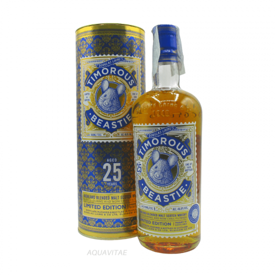 Whisky Timorous Beastie 25 Year Old Limited Edition - Whisky Scozzese Blended Malt