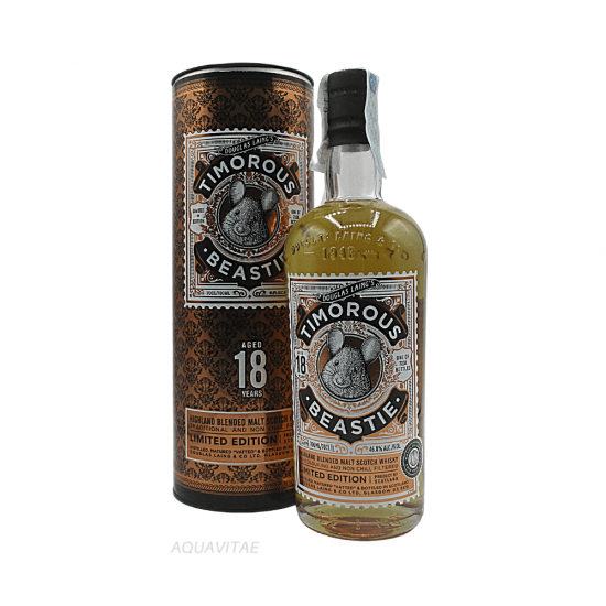 Whisky Timorous Beastie 18 Year Old Limited Edition - Whisky Scozzese Blended Malt