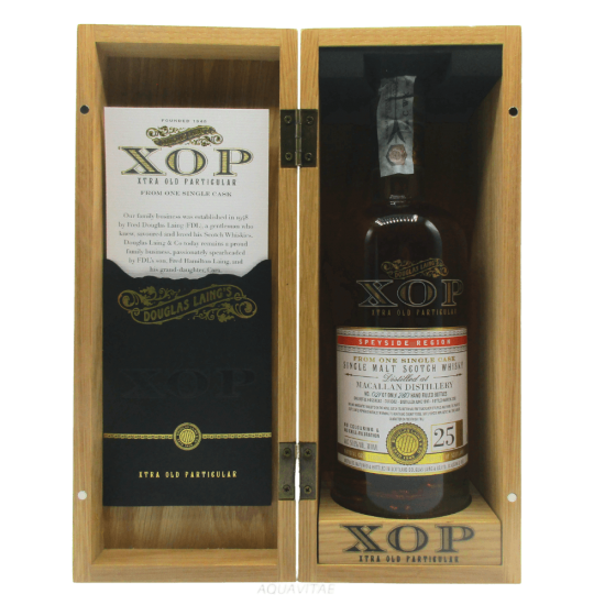 Whisky XOP Macallan 25 Year Old Single Malt Scotch Whisky