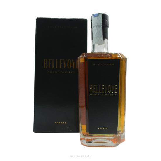 Whisky Bellevoye Noir Tourbe Bellevoye