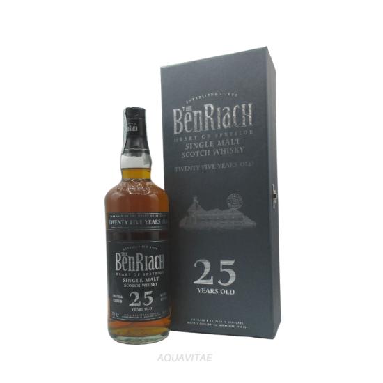 Whisky Benriach 25 Year Old Heart Of Speyside Single Malt Scotch Whisky