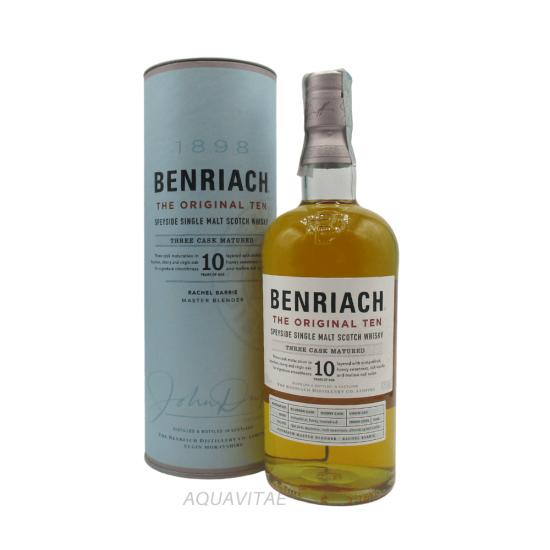 Whisky Benriach 10 Year Old The Original Ten Single Malt Scotch Whisky