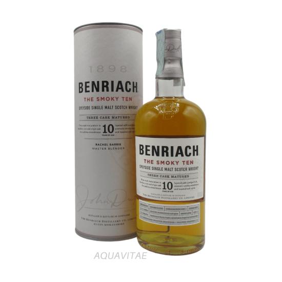 Whisky Benriach 10 Year Old The Smoky Ten Single Malt Scotch Whisky
