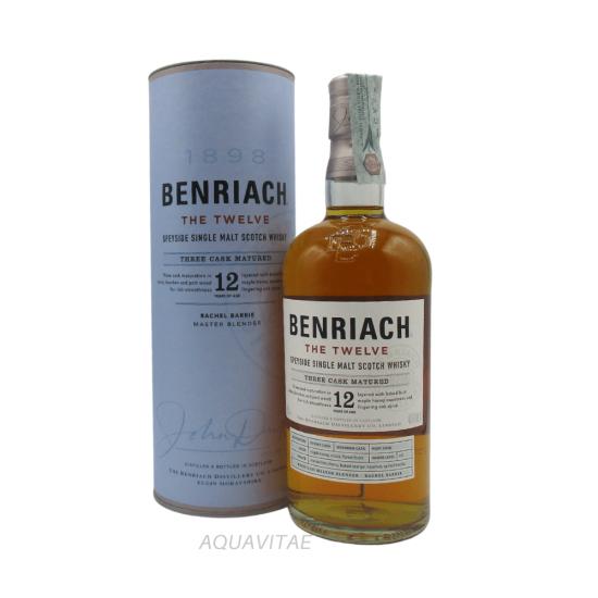 Whisky Benriach 12 Year Old The Twelve Single Malt Scotch Whisky
