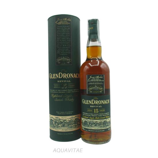 Whisky GlenDronach 15 Year Old Revival Single Malt Scotch Whisky