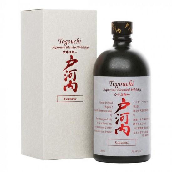 Whisky Togouchi Kiwami Japanese Blended Whisky CHUGOKU JOZO