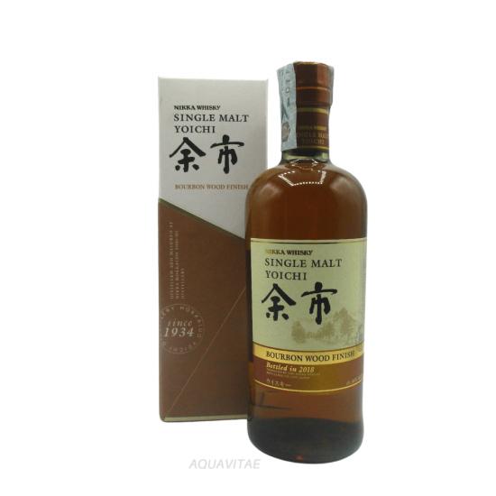 Whisky Nikka Yoichi Bourbon Wood Finish 2018 Whisky Giapponese Single Malt
