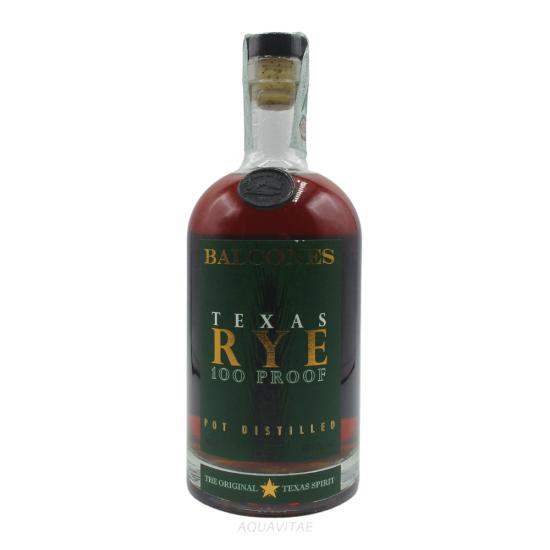 Whisky Balcones Texas Rye 100 Proof Balcones Distilling Co.