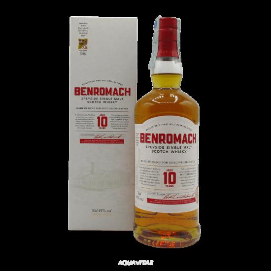 Whisky Benromach 10 Year Old  Single Malt Scotch Whisky