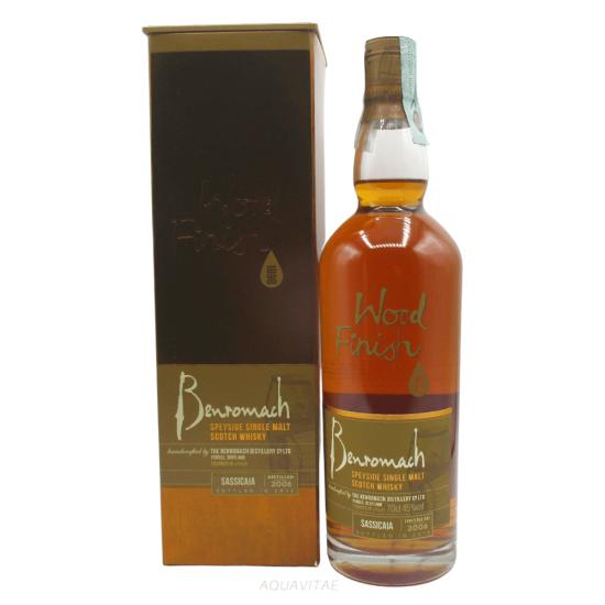 Whisky Benromach 2006 Wood Finish Sassicaia Single Malt Scotch Whisky